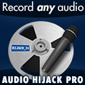 Audio Hijack Pro from Rogue Amoeba