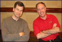 David Pogue and Chuck Joiner