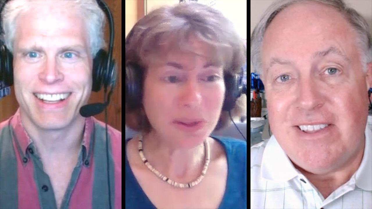 Adam Engst, Tonya Engst, Chuck Joiner