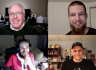 Chuck Joiner, Andrew Orr, Bart Busschots, Mike Potter