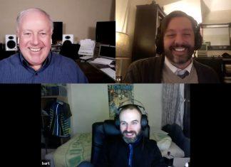 Chuck Joiner, Charles Edge, Bart Busschots