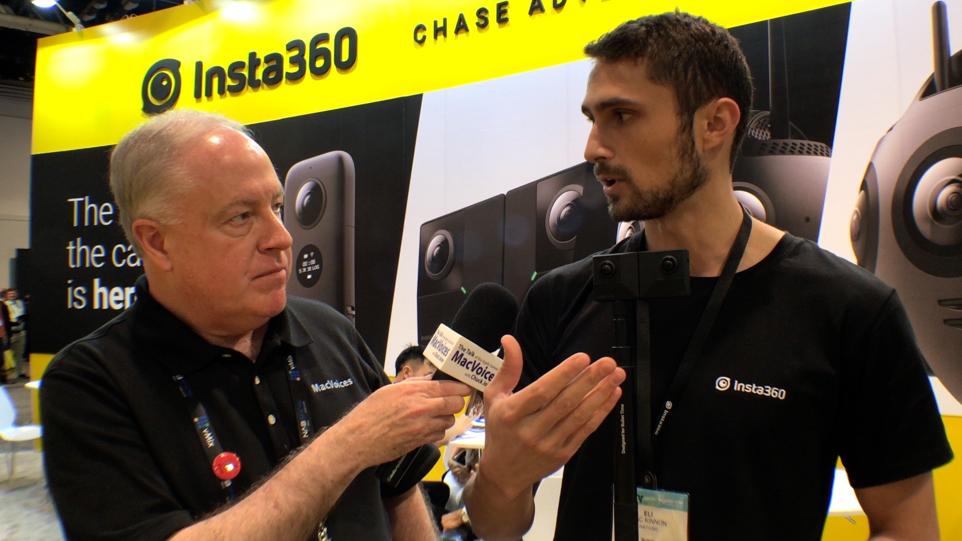 MacVoices #19109: NAB - Insta360 Introduces the Evo, a Combo 3D, 360-Degree Camera - MacVoices
