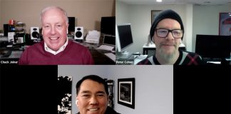 Chuck Joiner, Peter Cohen, Barry Fulk