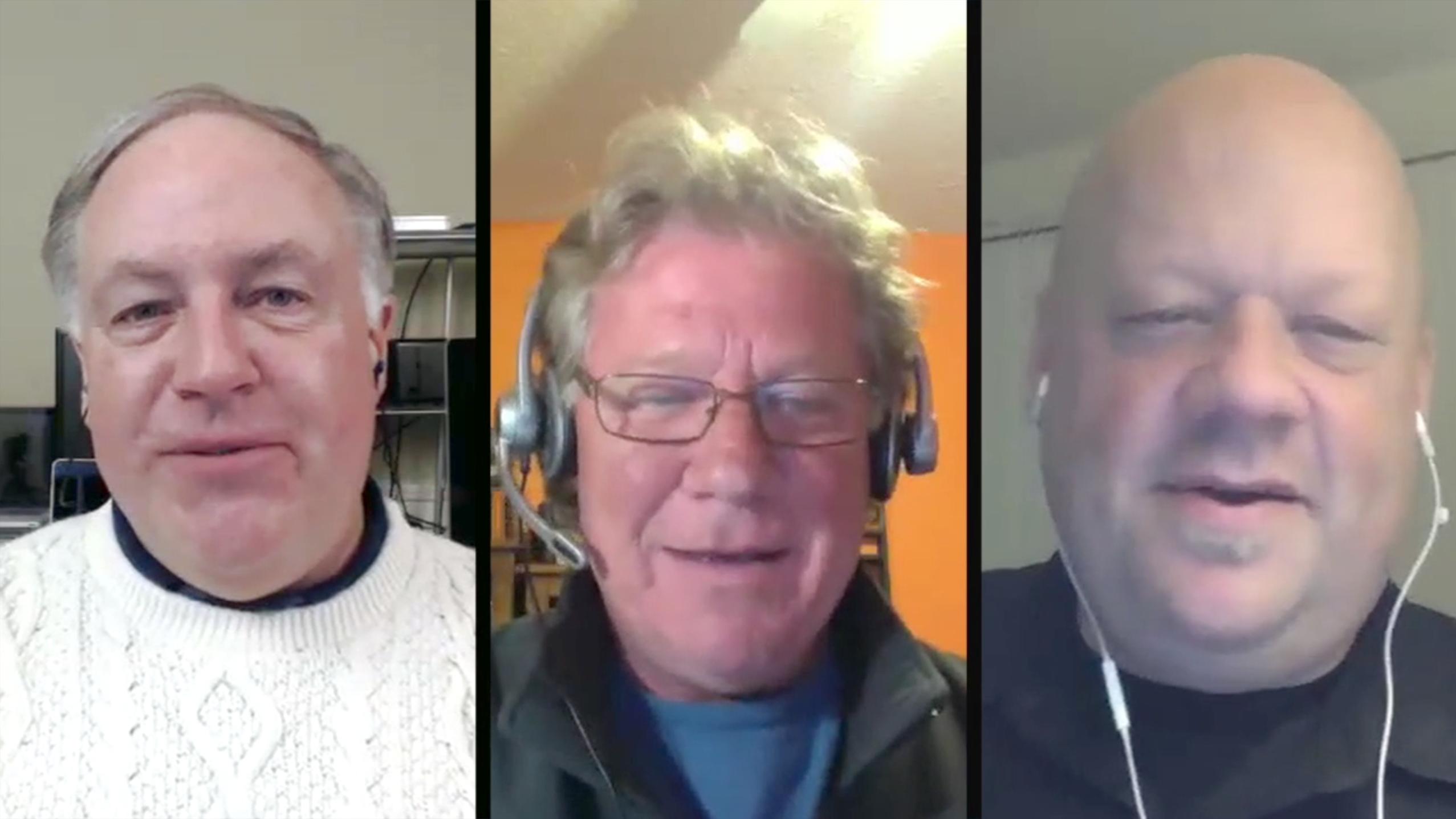 Chuck Joiner, Michael Horton, Daniel Bérubé