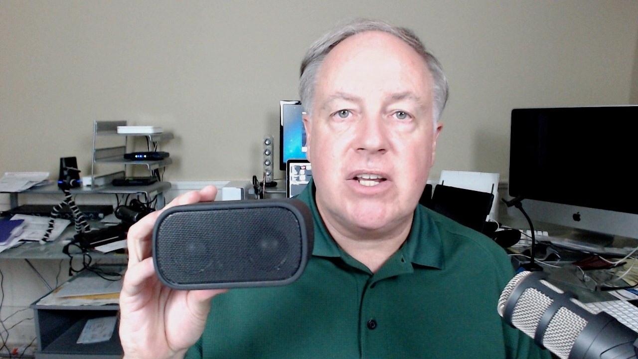 Chuck Joiner and Logitech UE Mobile Boombox