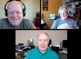 Daniel Berube, Michael Horton, Chuck Joiner