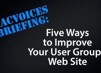 Five Ways to Improve Your User Groups Web Site