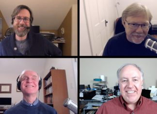 Jeff Carlson, Jeff Gamet, Dr. Robert Carter, Chuck Joiner
