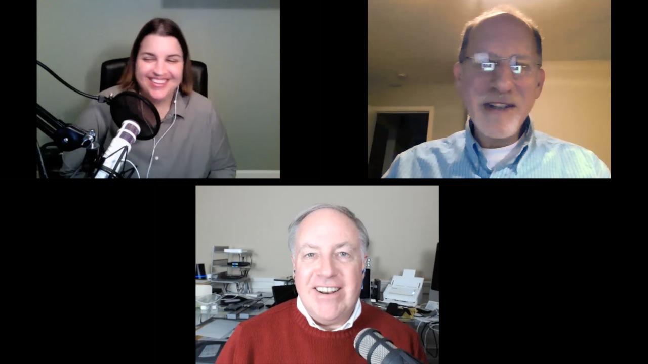 Katie Floyd, Ted Landau, Chuck Joiner