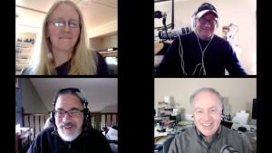 Kelly Hodgkins, Dave Caolo, Steve Sande, Chuck Joiner