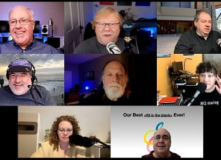 Chuck Joiner, Jeff Gamet, David Ginsburg, Jim Rea, Frank Petrie, Kelly Guimont, Brittany Smith, Mark Fuccio