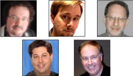 John F. Braun, Dave Hamilton, Ted Landau, Chuck La Tournous, Chuck Joiner