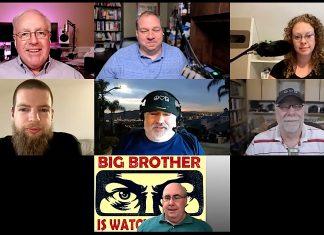 Chuck Joiner, David Ginsburg, Brittany Smith, Andrew Orr, Jim Rea, Guy Serle, Mark Fuccio