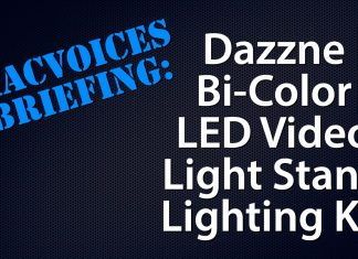 MacVoices Briefing - Dazzne Light Panel Kit