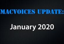 MacVoices Update 2020-01