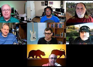 Chuck Joiner, Jay Miller, Frank Petrie, David Ginsburg, Mike Schmitz, Jim Rea, Mark Fuccio