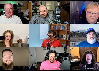 Chuck Joiner, David Ginsburg, Jeff Gamet, Brittany Smith, Mike Schmitz, Jim Rea, Andrew Orr, Jay Miller, Kelly Guimont
