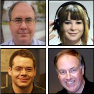 Mark Fuccio, Colleen Kelly, Alex Lindsay, Chuck Joiner