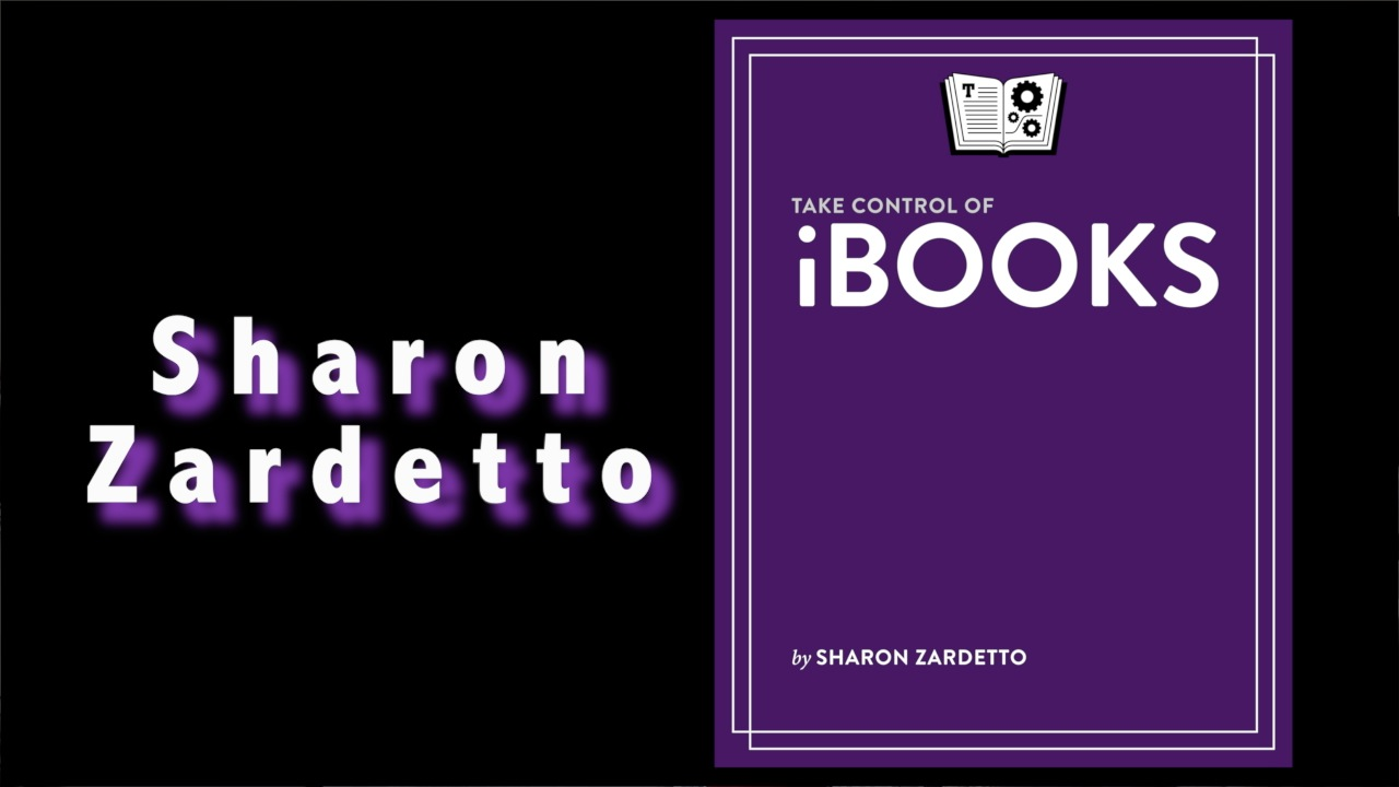 Sharon Zardetto - Take Control of iBooks