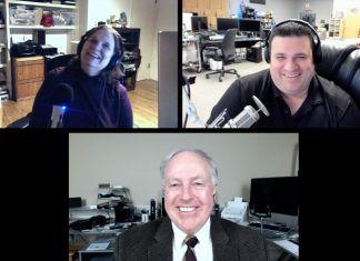 Shelly Brisbin, Jim Tanous, Chuck Joiner
