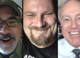 Steve Sande, Krystian Kozerawski, Chuck Joiner