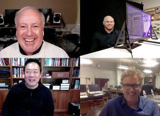 Chuck Joiner, Bayley Pierson, Ji Chen, Dr. Matt Anderson