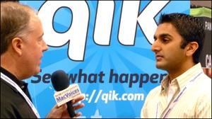 Rishi Mallik and Chuck Joiner at New Media Expo 2008