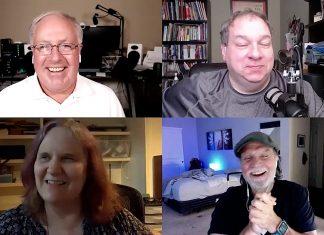 Chuck Joiner, David Ginsburg, Shelly Brisbin, Frank Petrie