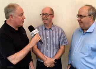 Chuck Joiner, Don McAlllister, Mark Fuccio