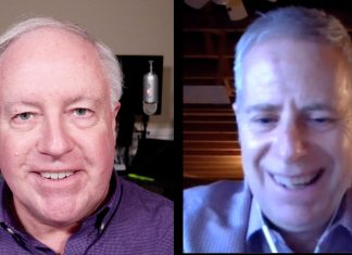 Chuck Joiner, Paul Brown of Kew Labs