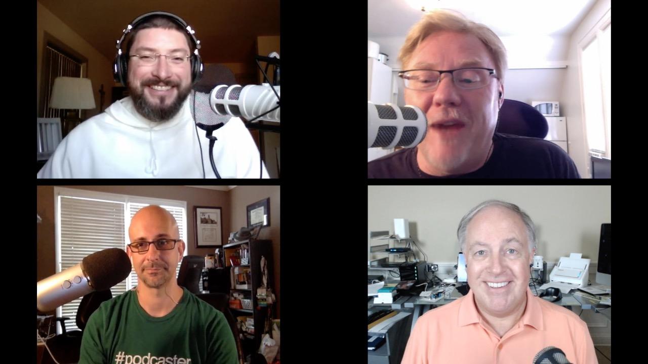 Fr. Gabriel Thomas Mosher, O.P., Jeff Gamet, Rob Walch, Chuck Joiner
