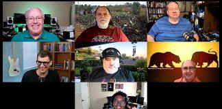 Chuck Joiner, Frank Petrie, David Ginsburg, Mike Schmitz, Jim Rea, Mark Fuccio, Jay Miller,