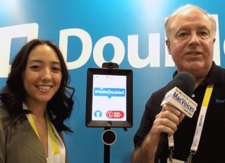 Sara Broyles of Double Robotics, Chuck Joiner