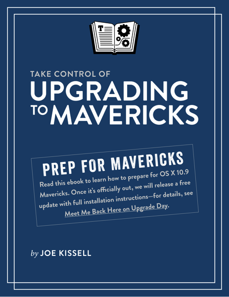 TCo Upgrading to Mavericks 1 0 Cover for EPUB